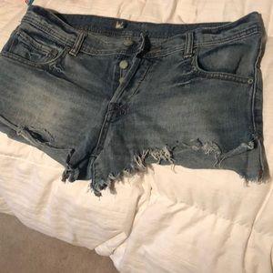 Size 29 mini FP shorts